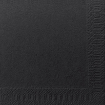 DUNI COCKTAIL NAPKIN 24CM 3PLY BLACK