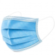 3-PLY FACE MASK WITH EAR LOOP BLUE X50 TYPE 1,NOT FOR NHS