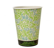 8OZ ULTIMATE ECO BAMBOO COMPOSTABLE HOT CUP