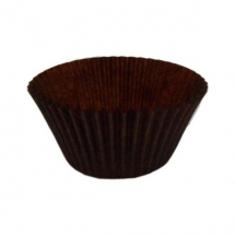 BROWN MUFFIN CASES 51 X 38MM