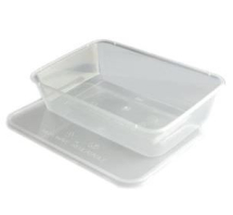 650CC MICROWAVE CONTAINER & LID