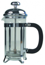 CAFETIERE CHROME FINISH PYREX BEAKER 8 CUP 100CL