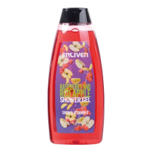 ENLIVEN RASPBERRY AND RED APPLE SHOWER GEL 400ML