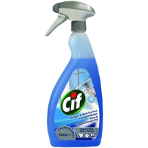 CIF GLASS & MULTISURFACE CLEANER 750ML
