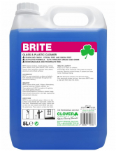 CLOVER BRITE GLASS & MIRROR CLEANER 5L