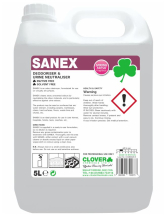 CLOVER SANEX ODOUR DESTROYER 5LTR - SINGLE