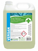 CLOVER VERSAN BROAD SPECTRUM SURFACE DISINFECTANT FOR DISEASE CONTROL 5LTR