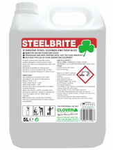 CLOVER STEELBRITE STAINLESS STEEL CLEANER & DESCALER 5LTR
