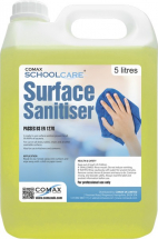 SCHOOLCARE SURFACE SANITISER 5LTR