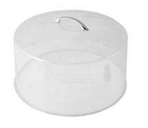 CAKE STAND COVER 12inch WITH CHROME HANDLE