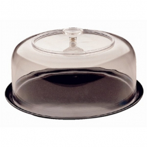 CLEAR ACRYLIC ROUND DOME COVER 270 x 133MM
