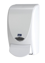 DEB PROLINE WHITE FOAM SOAP DISPENSER
