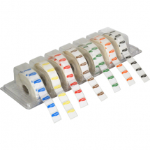 DISSOVABLE DAY DOT DISPENSER & SET OF LABELS CLEARVIEW