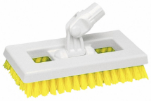 INTERCHANGE DECK BRUSH HEAD YELLOW 9.25inch