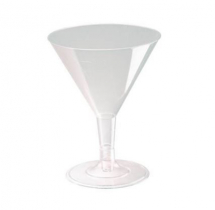 DISPOSABLE MARTINI GLASS 5.5OZ X192