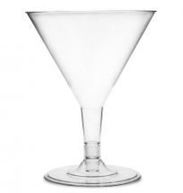DISPOSABLE MARTINI GLASS 5OZ X12