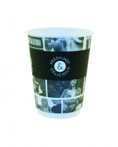 CAFE LIFE 12OZ SMOOTH DOUBLE WALL CUP X460