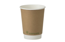 12OZ DOUBLE WALL EDENWARE CUP BIODEGRADABLE
