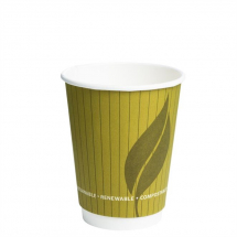 ENVIROWARE 12OZ LEAF CUP DOUBLE WALL