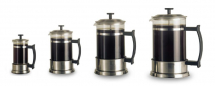 ELIA CONTEMPORARY CAFETIERE 6 CUP SATIN S/S EPD-60S