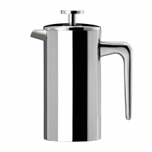 ELIA 12 SIDED CAFETIERE 3 CUP S/S MIRROR FINISH