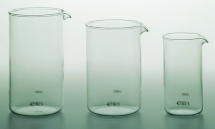 ELIA REPLACEMENT GLASS BEAKER 12 CUP PYREX GLASS