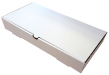 LARGE FISH AND CHIP BOX WHITE 300 X 142 X 48MM