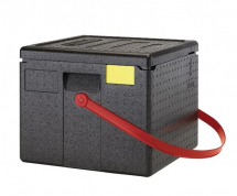 CAMBRO CAM GOBOX 4 PIZZA CARRIER RED STRAP