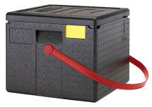 CAMBRO CAM GOBOX 6 PIZZA CARRIER RED STRAP