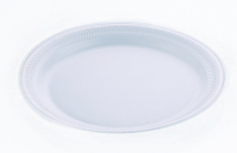 10inch WHITE KP TRIMPLATE FOAM PLATE