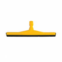 PLASTIC FLOOR SQUEEGEE 55CM YELLOW