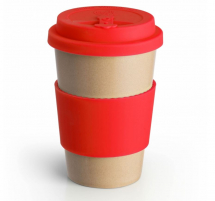 ECO TO GO HUSK CUP RED 14OZ X36