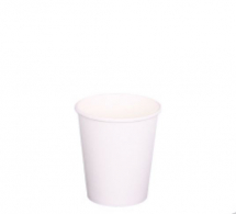 WHITE HOT CUP 4OZ 0.13LTR SINGLE WALL X1000
