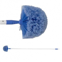 Extra Soft 150mm Domed Head Cobweb Brush with Extending Handle