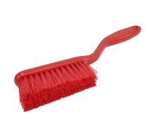 HAND BRUSH MEDIUM/STIFF 317MM RED