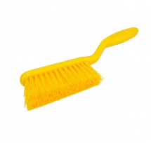 HAND BRUSH MEDIUM/STIFF 317MM YELLOW HN083-Y