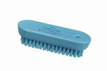 Professional Stiff 122mm Nail Brush BLUE