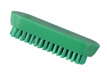 Professional Stiff 122mm Nail Brush GREEN