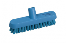 Professional Extra Stiff 230mm Deck Scrub BLUE