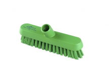 Professional Extra Stiff 230mm Deck Scrub GREEN