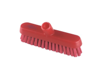 Professional Extra Stiff 230mm Deck Scrub RED