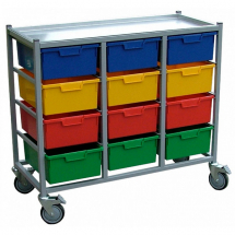 KARRI CART 12 TRAYS WITHOUT HANGING RAIL