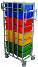 KARRI CART 16 TRAYS WITH HANGING RAIL