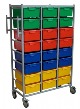 KARRI CART 24 TRAYS WITH HANGING RAIL