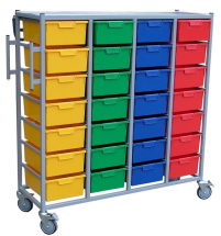 KARRI CART 28 TRAYS WITH HANGING RAIL