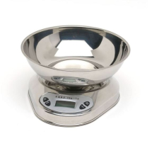STAINLESS STEEL DIGITAL KITCHEN SCALES 5KG