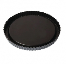 MATFER BOURGEATNON-STICK FLUTED FLAN TIN 25CM