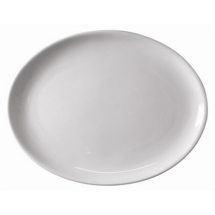 ATHENA HOTELWARE OVAL COUPE PLATE 12inch X6