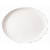 ATHENA HOTELWARE OVAL COUPE PLATE 10inch X12
