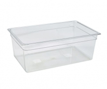 POLYCARBONATE CLEAR GASTRONORM PAN 1/1 200MM DEPTH